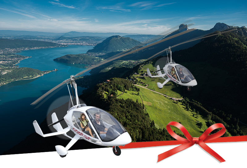 gyrocopter cadeau vol duo